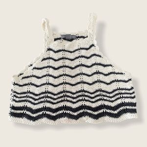 Kendall and Kylie Crocheted crop top